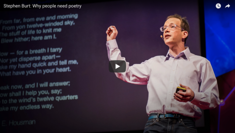 Ted Talk: Why People Need Poetry