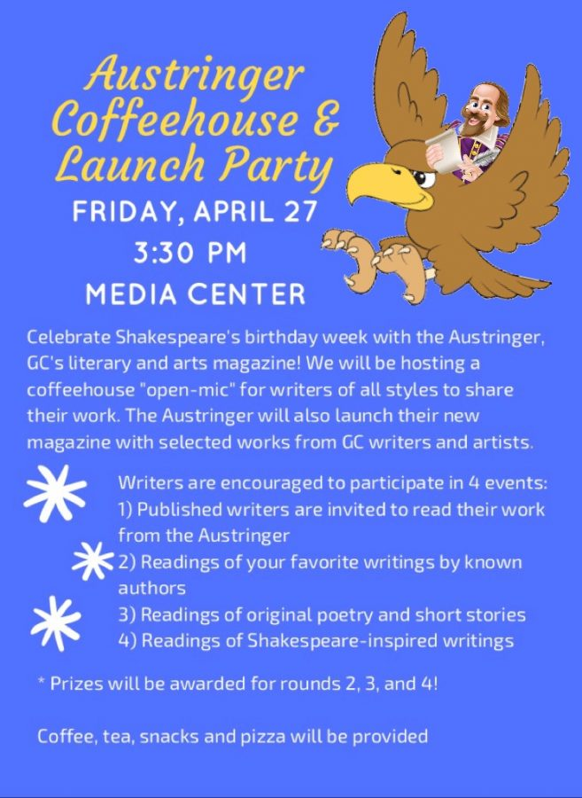 The Austringer Coffeehouse and Launch Party